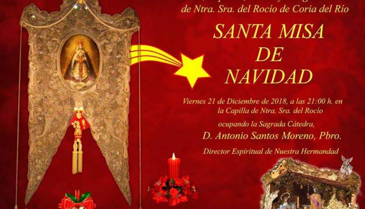 Hermandad de Coria – Santa Misa de Navidad 2018