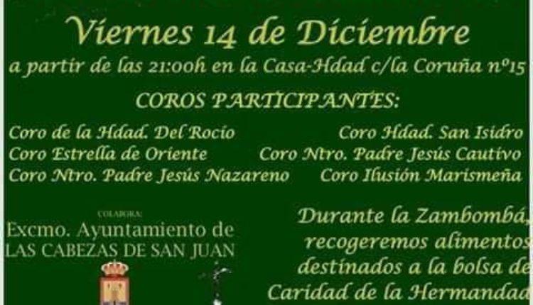 Hemandad de Las Cabezas – VII Zambomba Solidarias 2018