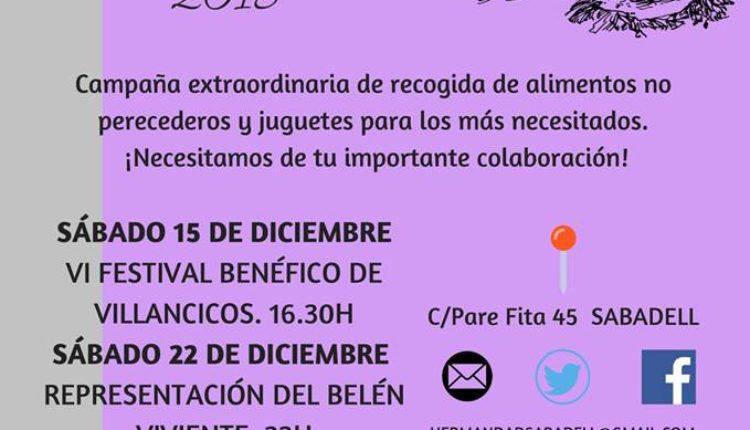 Hermandad de Sabadell – Navidad Solidaria 2018