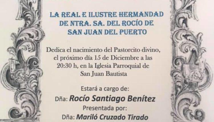 Hermandad de San Juan del Puerto –  V Exaltación de la navidad 2018