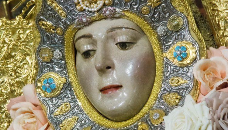 La Virgen del Rocío al detalle en la Inmaculada de 2018