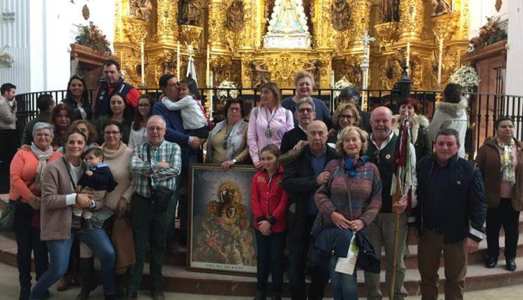 El FORO del Rocío hizo su Ofrenda un año más