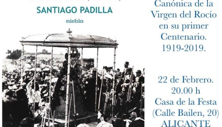 Santiago Padilla – Presentación de la obra ROCÍO, REINA DE LA PAZ en Alicante