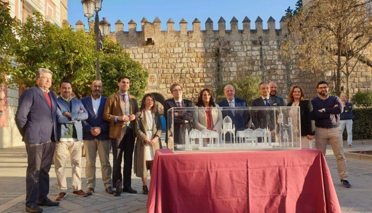 El Ayuntamiento de Almonte y la Hermandad Matriz presenta en Sevilla la nueva Catedral Efímera para la Venida de la Virgen