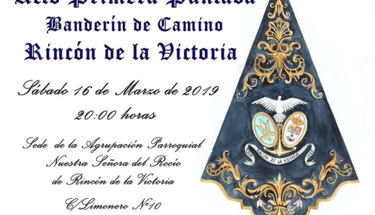 Agrupación Parroquial de Rincón de la Victoria – Primera Puntada Banderín de Camino