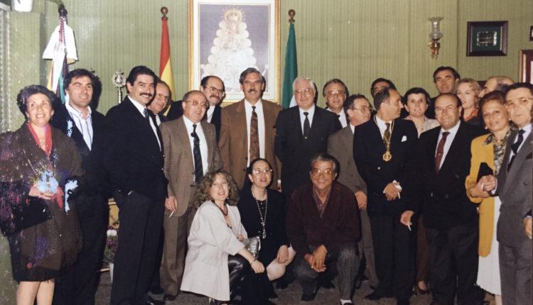 Hermandad de Ronda – Una foto Histórica, Actos de Clausura del 25 Aniversario de la Hermandad como Filial de Almonte