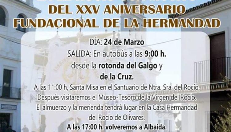 Hermandad de Albaida del Aljarafe – I Convivencia de Mayores en el Rocío