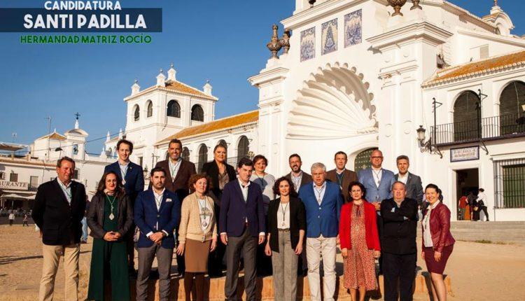 Candidatura de Santiago Padilla a Presidente de la Hermandad Matriz