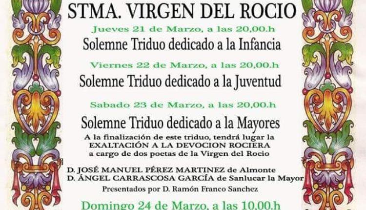 Hermandad de Chucena – Solemne Triduo XXV Aniversario