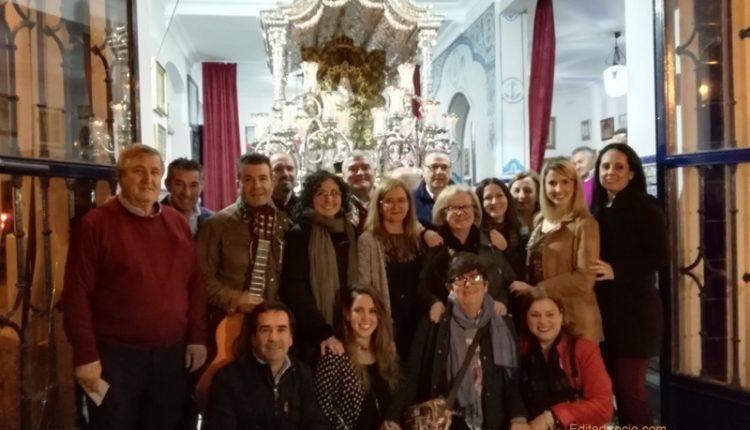 Hermandad de Isla Cristina – La Peña Manuela canta la Salve