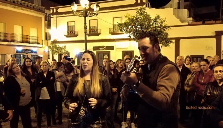 Hermandad de Isla Cristina – MARCE GONZÁLEZ Y BEATRÍZ MORÓN CANTAN LA SALVE