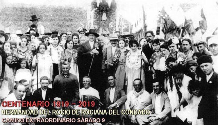 Camino Extraordinario del Centenario de la Hermandad de Rociana (1919-2019) por Almonte