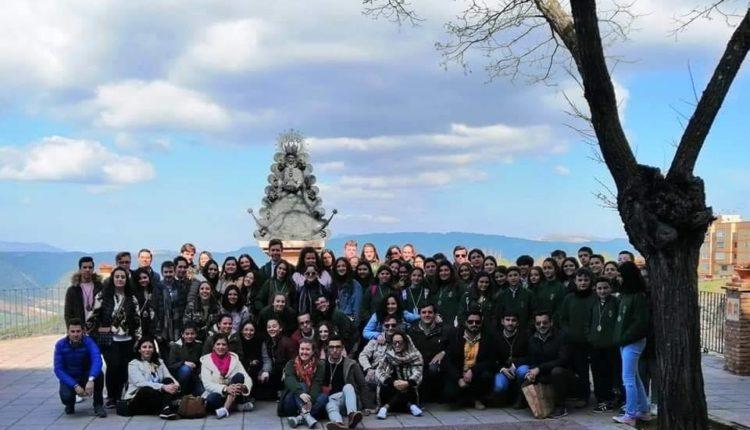 Convivencia del grupo joven de la Hdad Matriz de Almonte con la Hdad del Rocio de Ronda