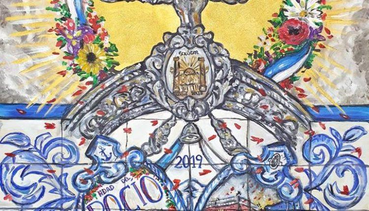 Hermandad de Sanlúcar la Mayor – Cartel de la Romería del Rocío 2019