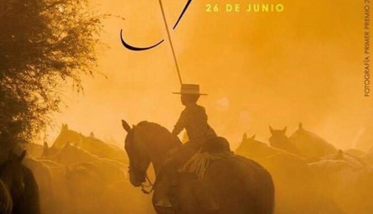 Saca de las Yegüas en el Rocío 2019