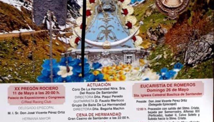 Hermandad de Santander – Actos mes de mayo Rocío 2019
