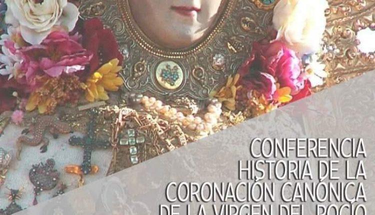 Conferencia de Santiago Padilla en el Centro de Mayores de Huelva sobre la Coronación de la Virgen del Rocío