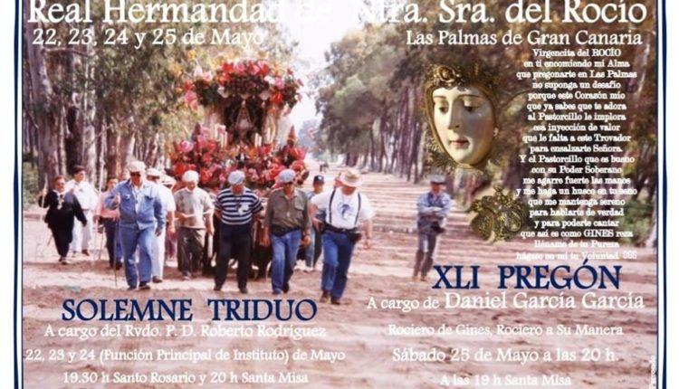 Hermandad de Las Palmas – Solemne Triduo y Pregón 2019