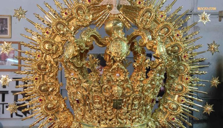 Fotos al Detalle de la Corona de la Virgen y El Pastorcito