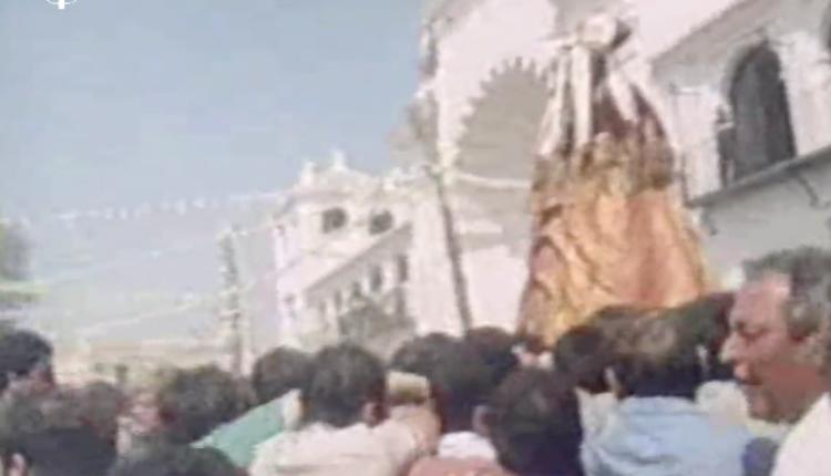 """""""1984"""" – Momentos Históricos del Traslado de la Virgen del Rocío a Almonte por Javier Coronel"""