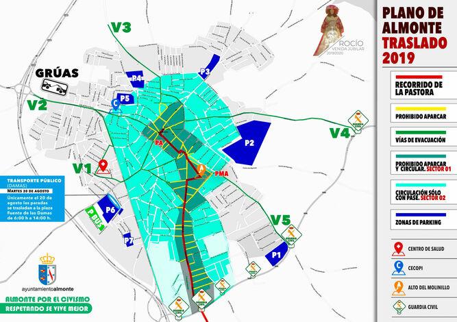 Zona Azul Sevilla Mapa.Cortes De Trafico Y Tarifas Aparcamientos En El Traslado De