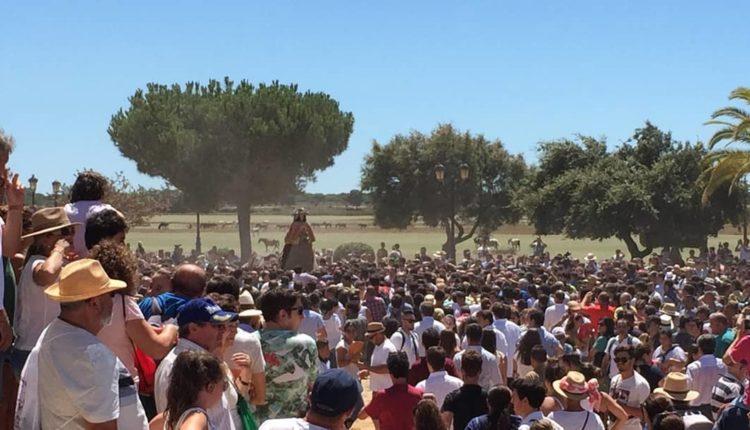 La Virgen del Rocío inicia su Traslado a Almonte 2019