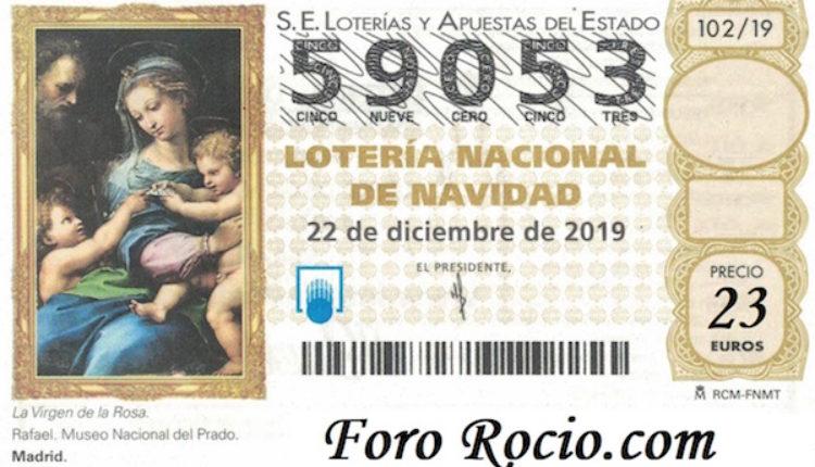 Ofrenda del Foro 2019 – Venta de Lotería de Navidad