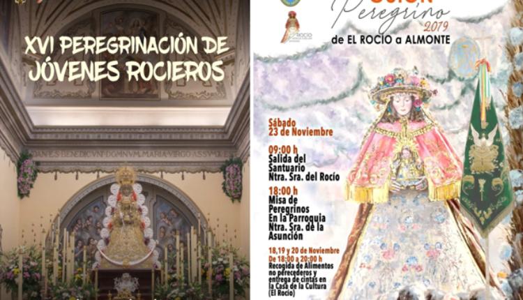 XVI Peregrinación de Jóvenes Rocieros y  V de Vecinos del Rocío a Almonte.
