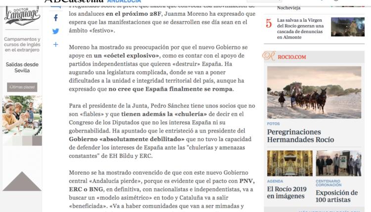 Acuerdo de colaboración entre Sevilla.abc.es y Rocio.com para intercambiar contenidos