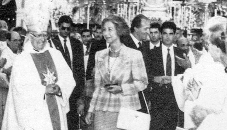 La visita de los Reyes eméritos Juan Carlos I y Doña Sofía en 1992 al Rocío por Javier Coronel