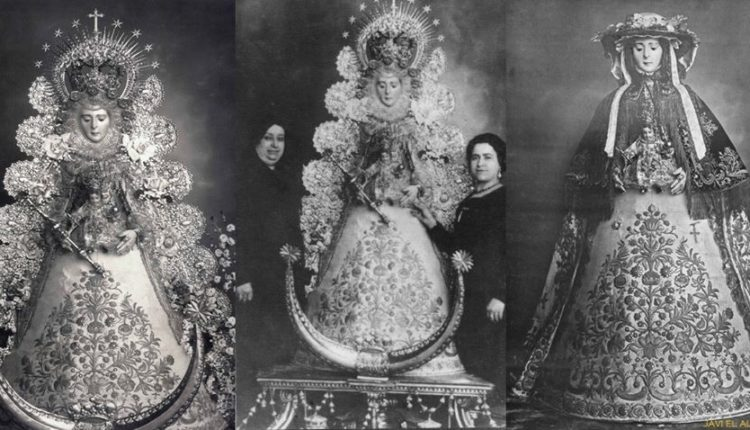 Tres curiosas fotografías de la Virgen del Rocío de los años 20, por Javier Coronel