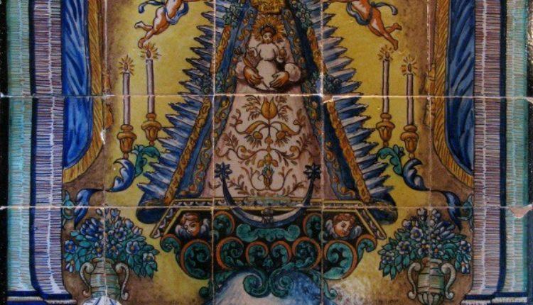 Azulejos del Rocío – Llena tus Redes Sociales de Azulejos de la Virgen