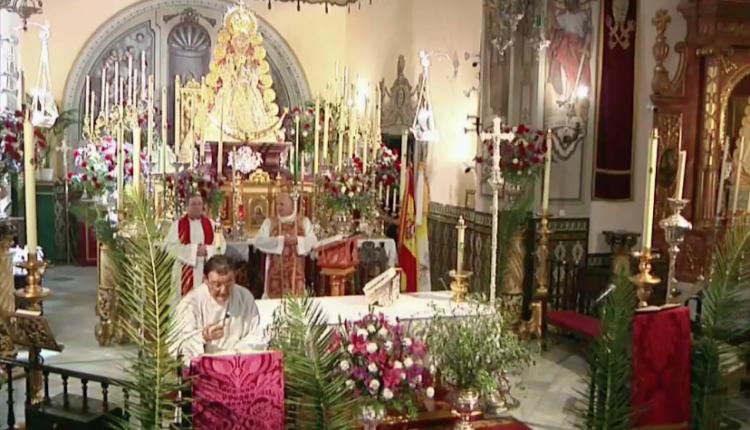 Santa Misa del Domingo de Ramos 2020 desde la Parroquia de la Asunción de Almonte