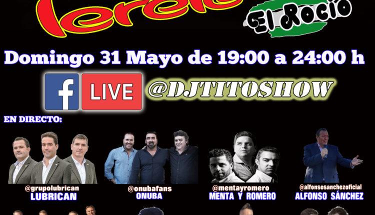 Especial Rocío – El domingo 31 de mayo en facebook.com/djtitoshow