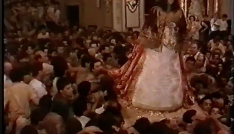 El Rocío en Almonte 1991 – Llegada al Altar en agosto el 20 de agosto de 1991
