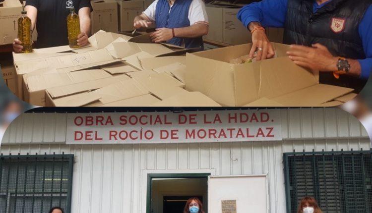 Hermandad de Moratalaz – Reparto de Alimentos