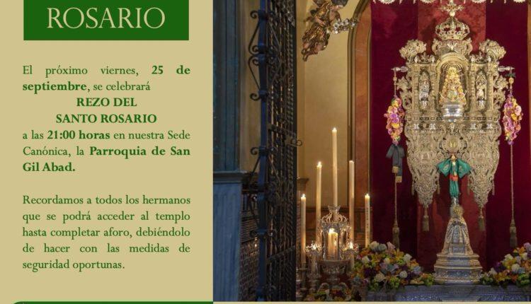 Hermandad de Macarena Rocío – Santo Rosario