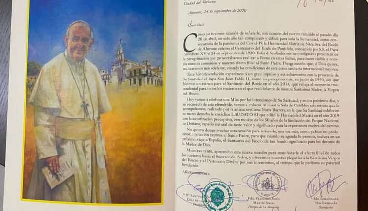 Hermandad Matriz – Carta al Papa Francisco