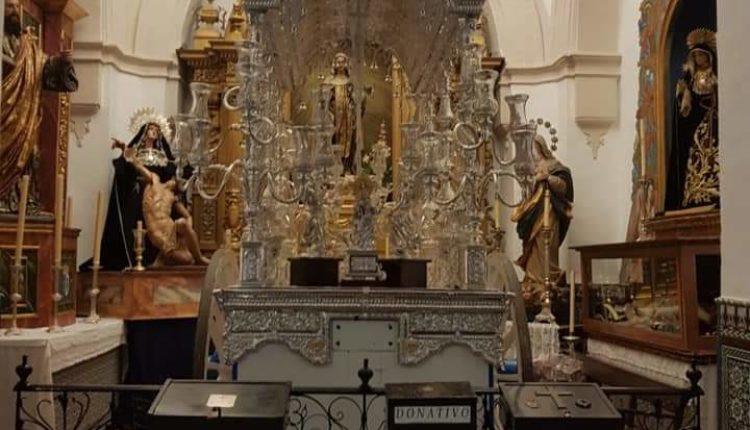 La carreta de Emigrantes acogerá el misterio de Navidad en la parroquia de Almonte