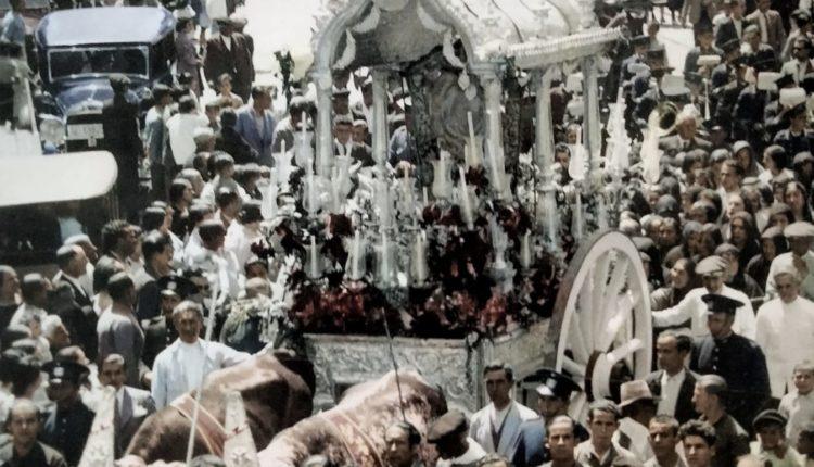 Salida de la Hdad. de Triana en 1935 – Una foto histórica