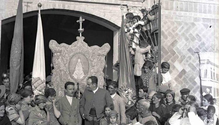 Una estampa de la Romería de 1928