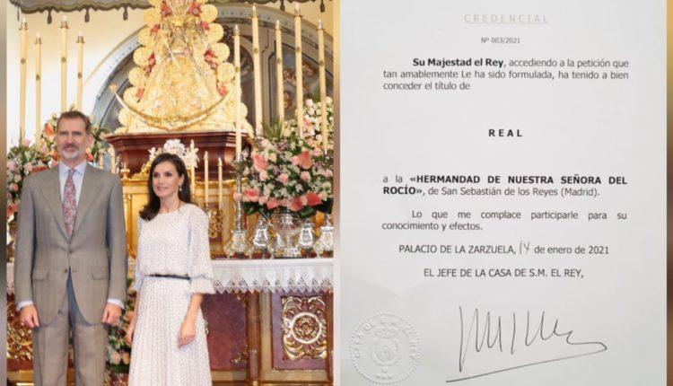 Hermandad de San Sebastián de los Reyes – Título de Real Hermandad