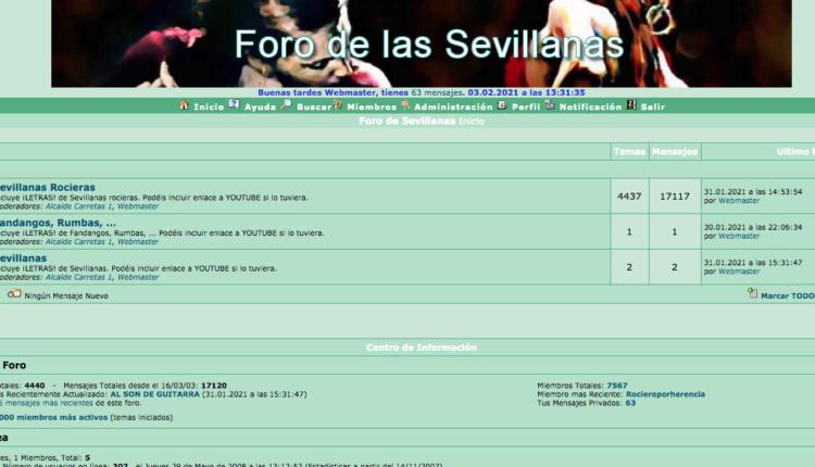 Nuevo Foro de Sevillanas ¡¡