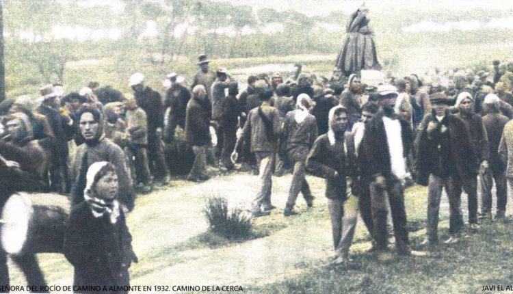 ¿Sabías que la Virgen del Rocío en 1932 entró en Almonte por el camino de la cerca?