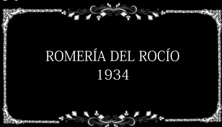 La Romería del Rocío en una filmación de la Fox en 1934