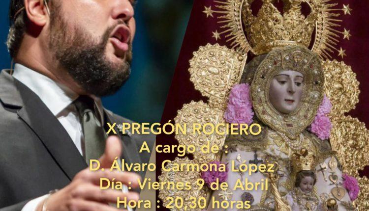 Hermandad de Moratalaz – X Pregón Rociero por Álvaro Carmona