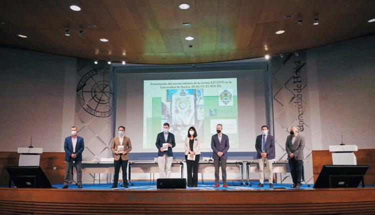 Presentación de la Revista Exvoto en la Universidad de Huelva
