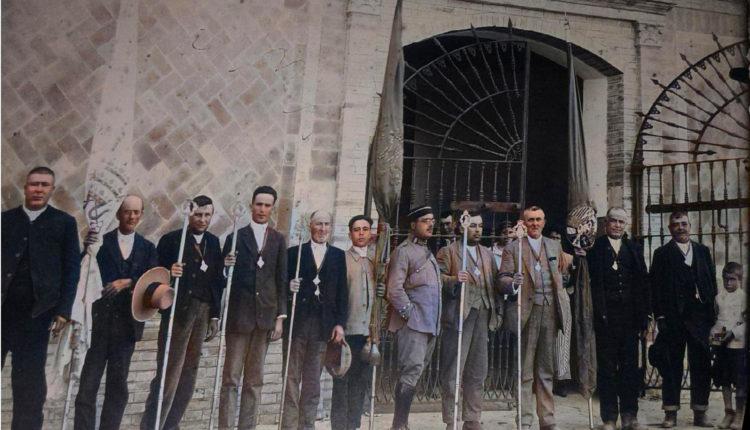 Sábado del Rocío de 1926 – Una foto histórica por Javier Coronel