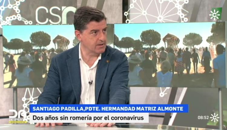 Entrevista al Presidente de la Matriz en Canal Sur TV – La capacidad que han tenido las Hdades. del Rocío para adaptarse a este ambiente hostil es de destacar