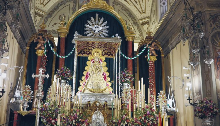 La Hermandad Matriz inicia hoy viernes 14/5/2021 la Novena en honor a la Virgen del Rocío